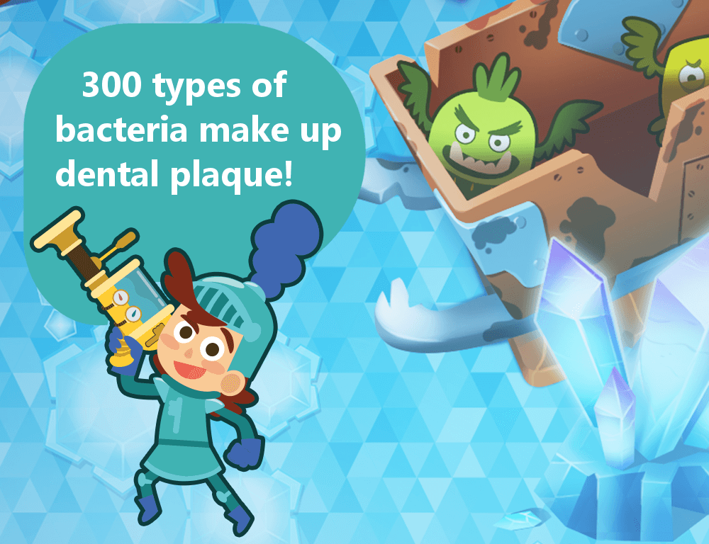 300 Types make up Dental Plaque