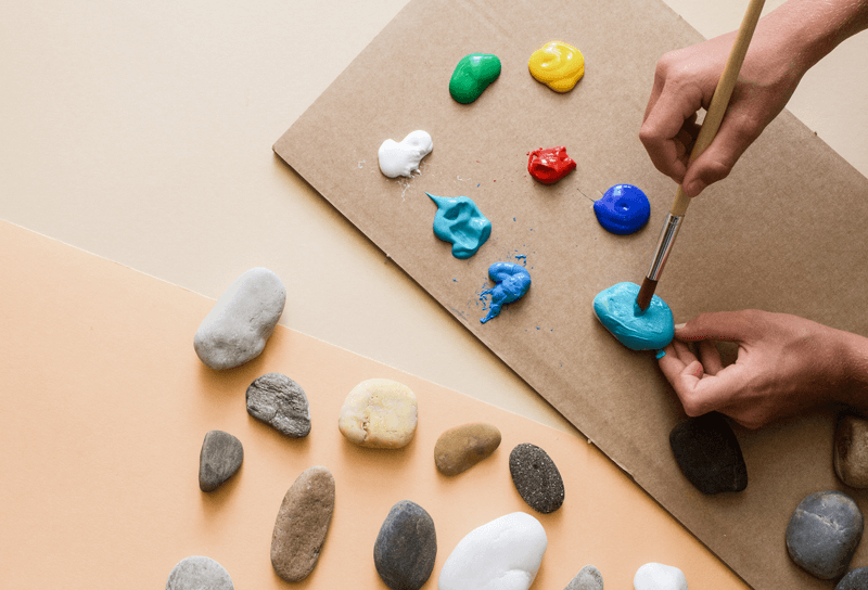 When Stones bring letters to life