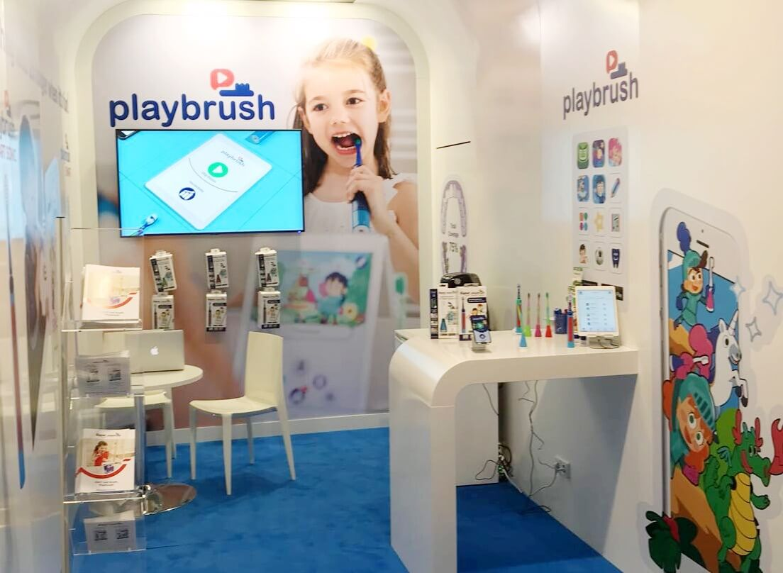 Launch of our brand new Playbrush Smart Sonic toothbrush