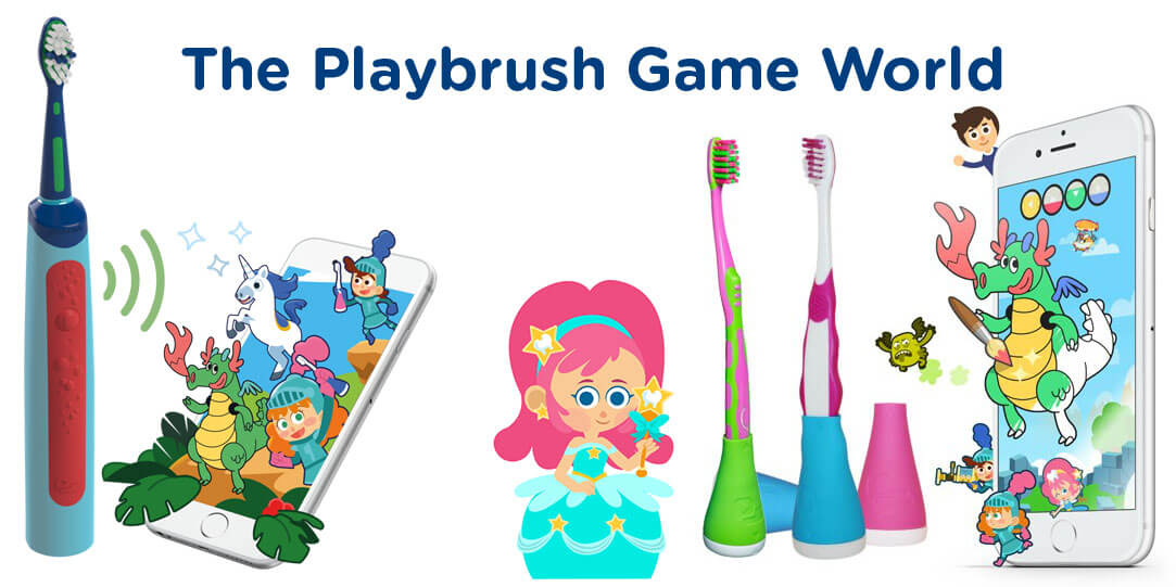The Playbrush Game World: Discover the Fun of Toothbrushing