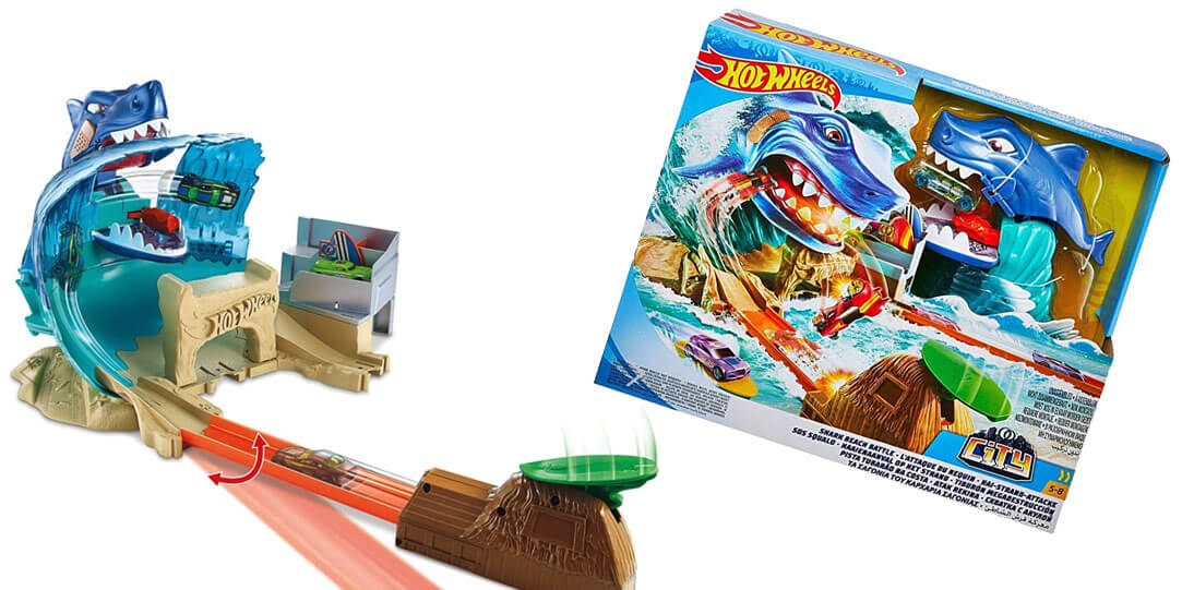 Raffle: Hot Wheels Shark Beach Battle Play Set